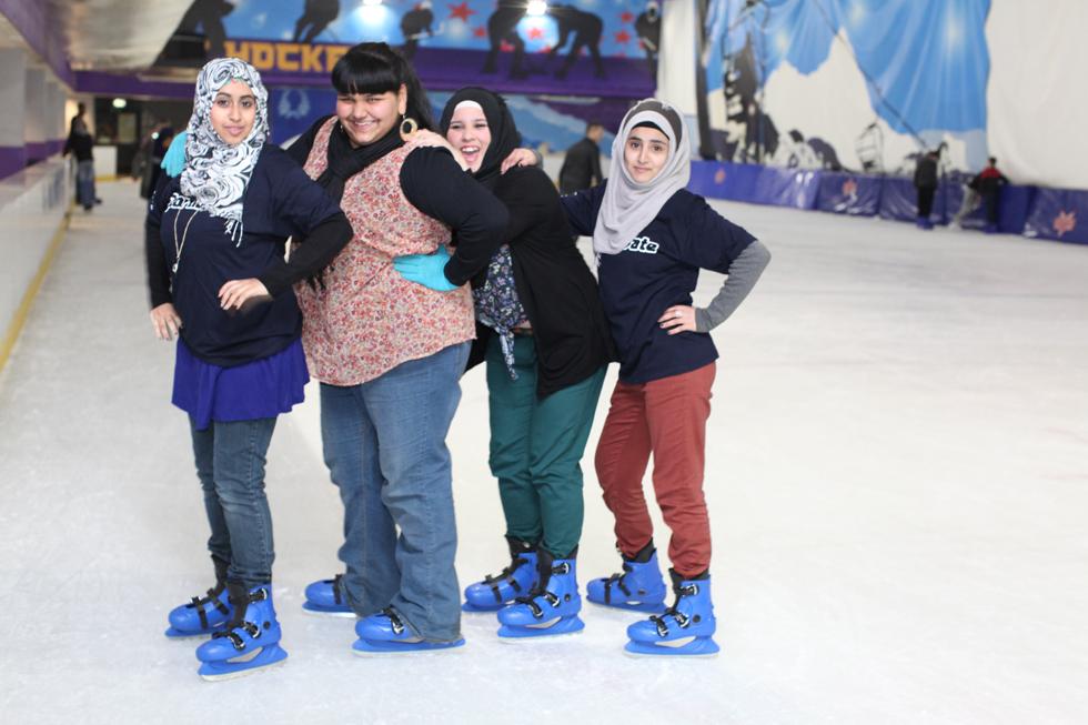 Saheli Ice Skating